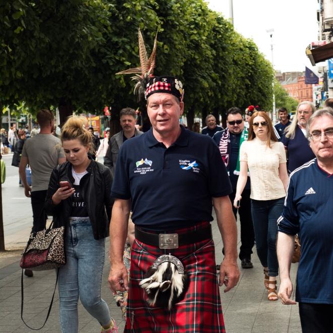 Scots descend